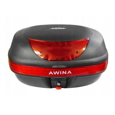 Awina 45L - černý kufr topcase na motorku a skútr