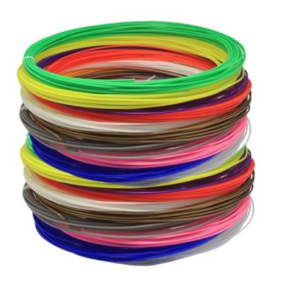 PLA Struna pro 3D pera, 90 metrů, přes 10 barev