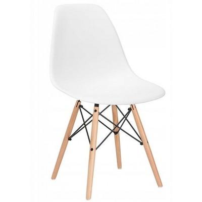 Designová židle SPRINGOS MILANO bílá