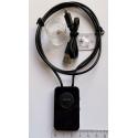 Indukční smyčka bluetooth 5W + mikrosluchátko PROFI (set)