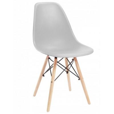Designová židle SPRINGOS MILANO šedá