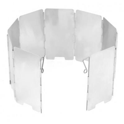 Větrný štít pro vařiče (zvyšuje efektivnost a výdrž plynu)