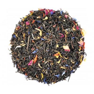 Černý čaj Earl Grey - Duhová směs (Chrpa, Šafrán,...