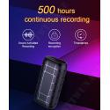 Profesionální špionážní diktafon s výdrží přes 500 hodin...